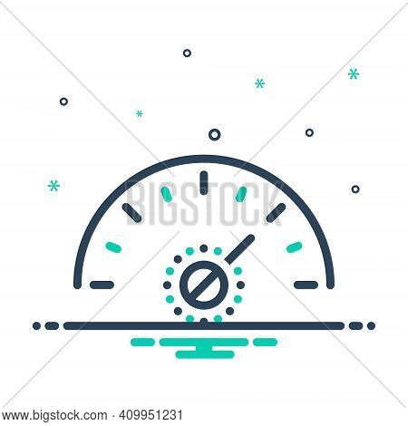 Mix Icon For More Much Speedometer Fast Arrow Technology Performance Indicator Accelerate
