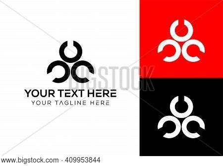Ccc Logo Design. New Company Logo Design. New Business Logo Design. C Letter Logo Design. Ccc Letter