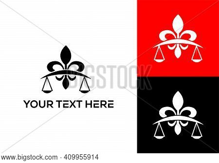 Lawyer Logo Vector. Legal, Attorney And Lawyer. Lawyer, Attorney At Law, Justice & Legal Consulting