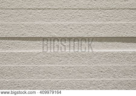 Styrofoam Texture. Styrofoam Sheets, Side View. The Store Sells Building Materials, A Warehouse For