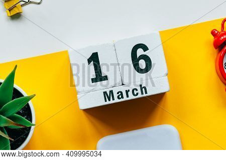 16 Sixteenth Day Of Spring Month Calendar March.