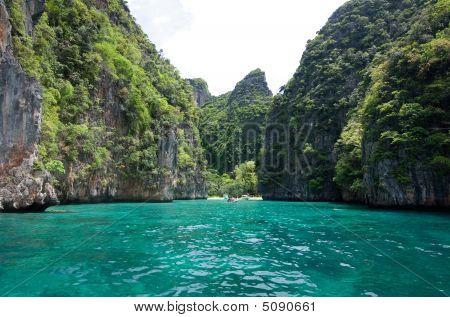A Bay On Koh Phi Phi