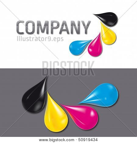 cmyk drops logo