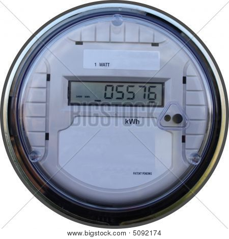 Outdoor Digital Meter