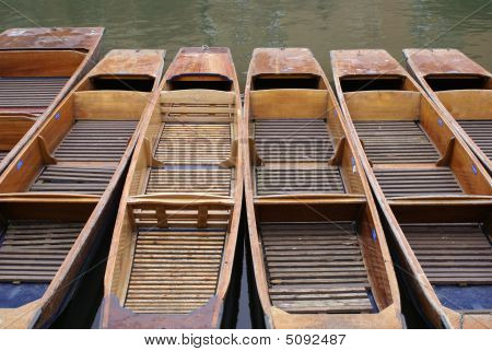 Punts On Cam River
