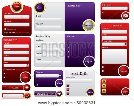 Big Button Web Form Design