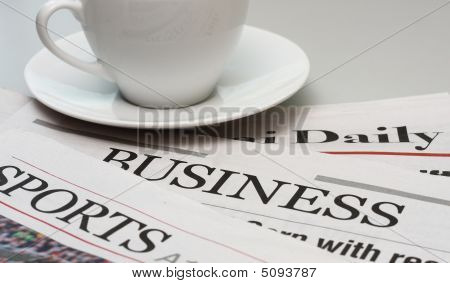 Sports And Business Newspapers