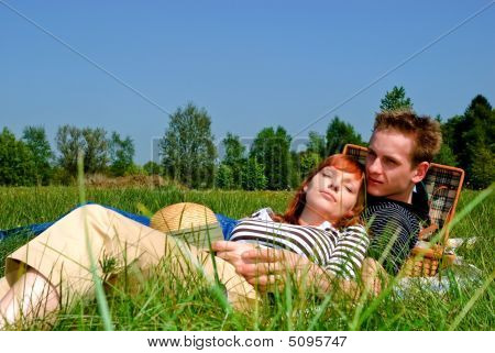 Couple Love Nature