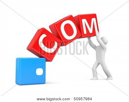 Person with domain name