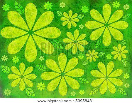 Floral Green Illustration