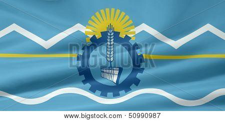 Flag of  Chubut - Argentina
