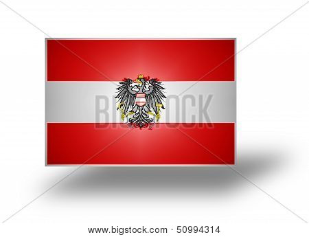Flag Of Austria (stylized I).