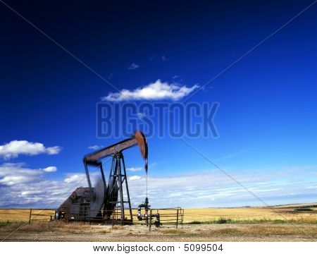 Pump Jack In Action