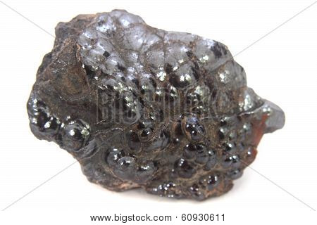 Natural Hematite Mineral Isolated