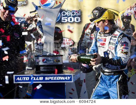 Nascar:  October 11 Pepsi 500