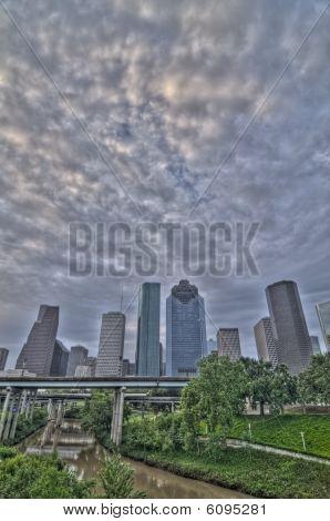 Houston Sunrise HDR