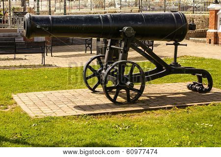 Old Cast-iron Cannon