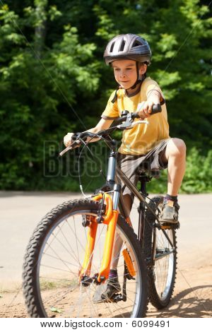 Kid With Bicycle