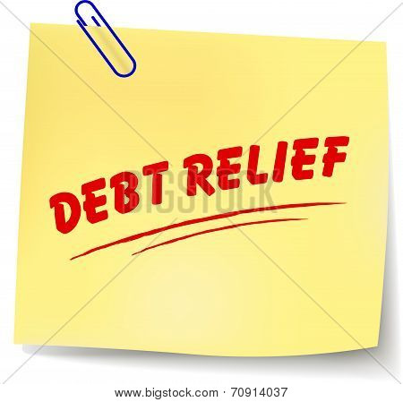 Debt Relief Message