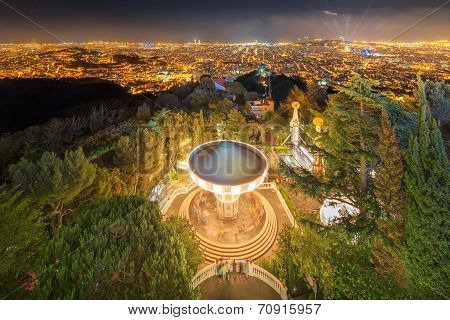 Barcelona Cityscape from Tibidabo