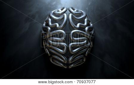 Stylized Thought Statue