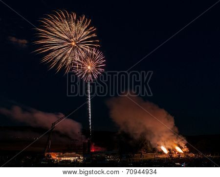 Fireworks And Howitzers - Two Fireworks & Two Blasts
