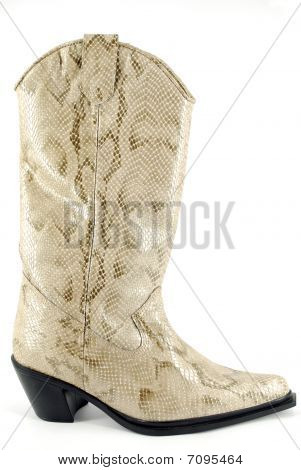 Woman Cowboy Leather Boot