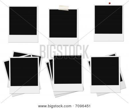 Six instant photo frame sets