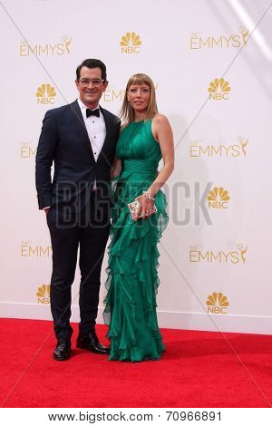 LOS ANGELES - AUG 25:  Ty Burrell at the 2014 Primetime Emmy Awards - Arrivals at Nokia at LA Live on August 25, 2014 in Los Angeles, CA