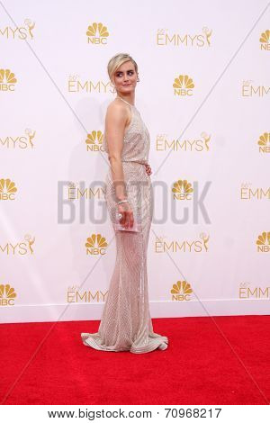 LOS ANGELES - AUG 25:  Taylor Schilling at the 2014 Primetime Emmy Awards - Arrivals at Nokia at LA Live on August 25, 2014 in Los Angeles, CA