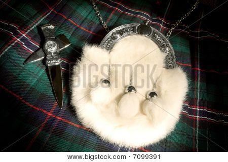 Fur Sporran And Kilt