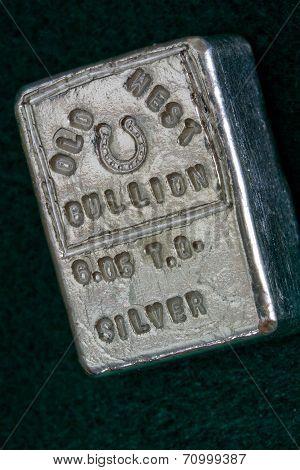 OLD WEST BULLION 6.05 Troy Ounce Silver Bar