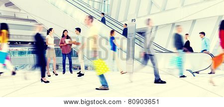 Diversity Casual People Buying Shopping Mall Concept