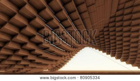 Wood Pixelated