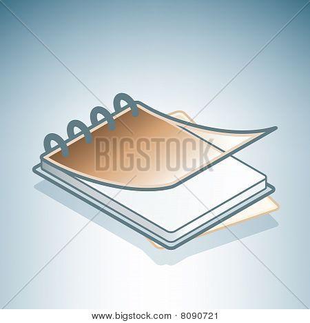 Brown Office Ringbook