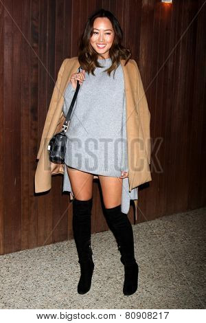 LOS ANGELES - JAN 22:  Aimee Song at the Alexa Chung For AG Los Angeles Launch Party at a Private Location on January 22, 2015 in Beverly Hills, CA