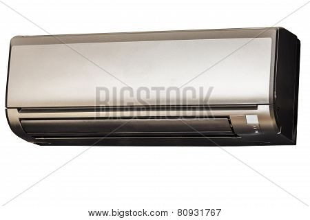 Air conditioning isolated on white background with clipping path poster