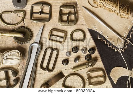 Leather Craft Background