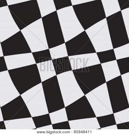 Chess curve pattern