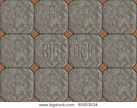 Ethnic Arabic ornaments pattern tiles design