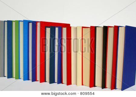Books in Line