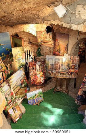 Art Gallery In Saint Paul De Vence