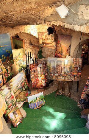 Art Gallery In Saint Paul De Vence