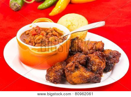 Hot Wings with Chili