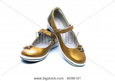A Pair Of Young Lady Shoes