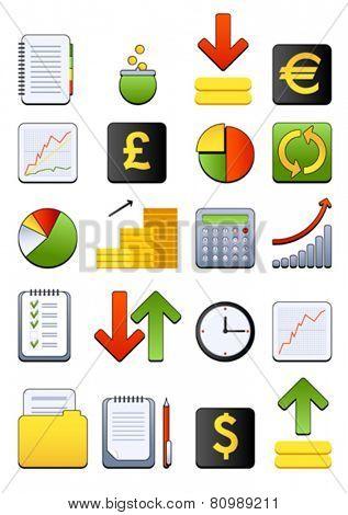 Vector financial icon