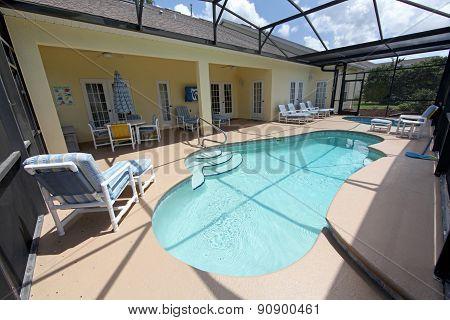 Pool, Spa And Lanai