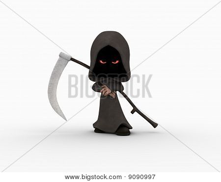 cute little grim reaper