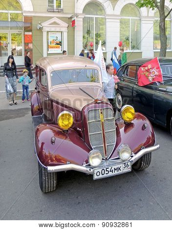 Soviet Passenger Car Of 1930S Gaz M1
