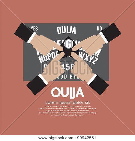 Ouija Board Playing.